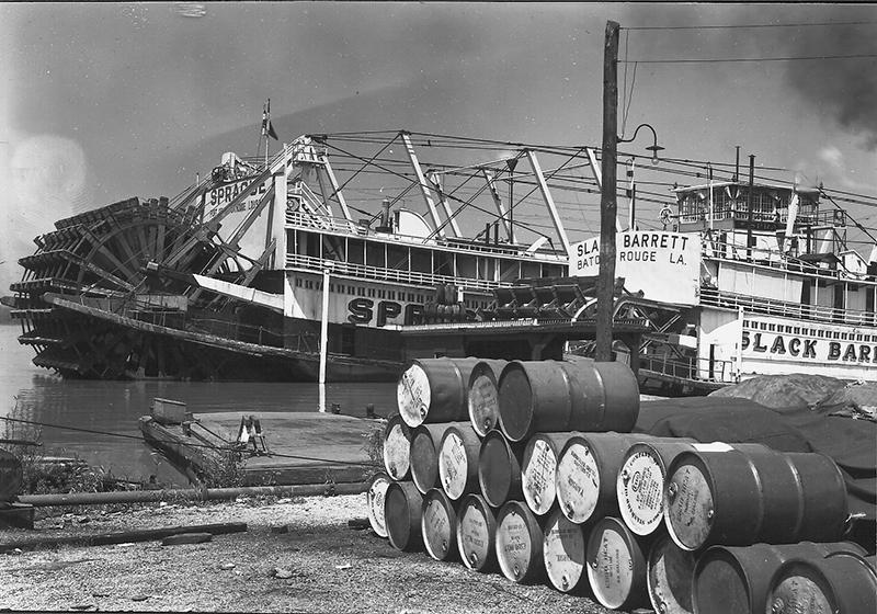 1947 Steamboats Sprague and Slack Barrett