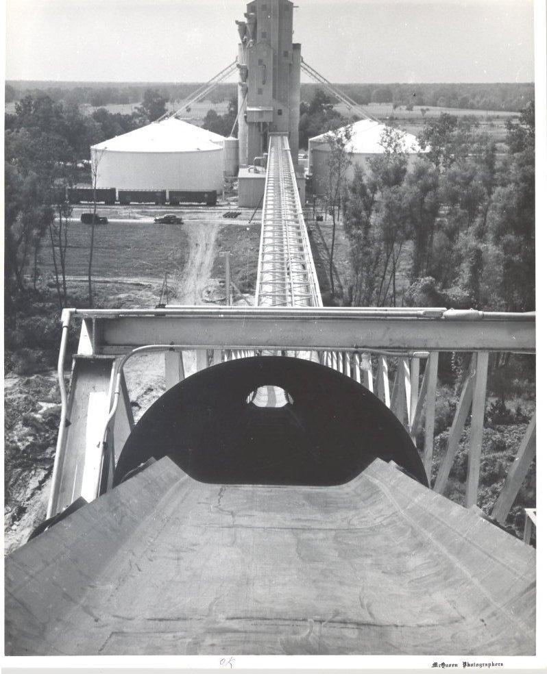 1955 Grain Elevator Conveyor System to Dock