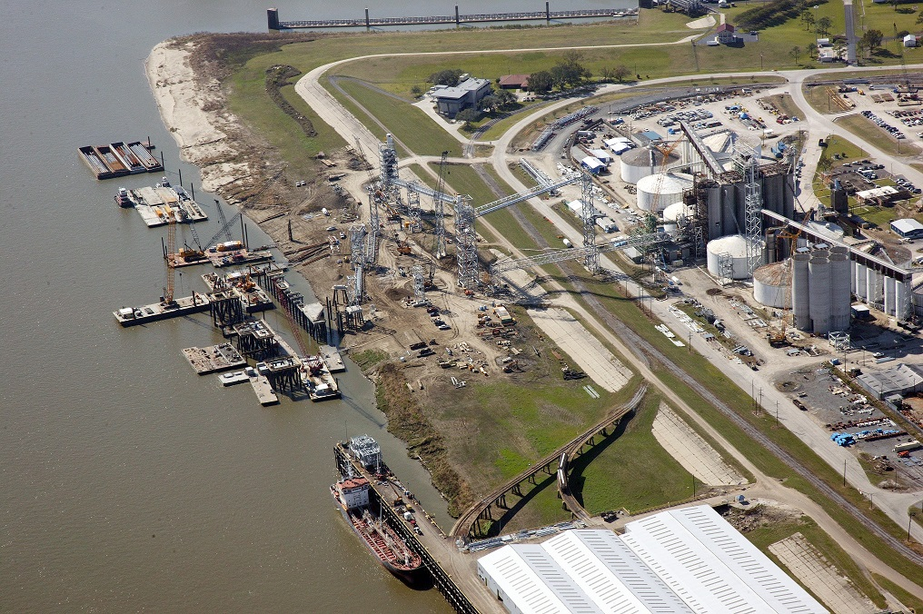 2012 Aerial View of Grain Elevator Construction