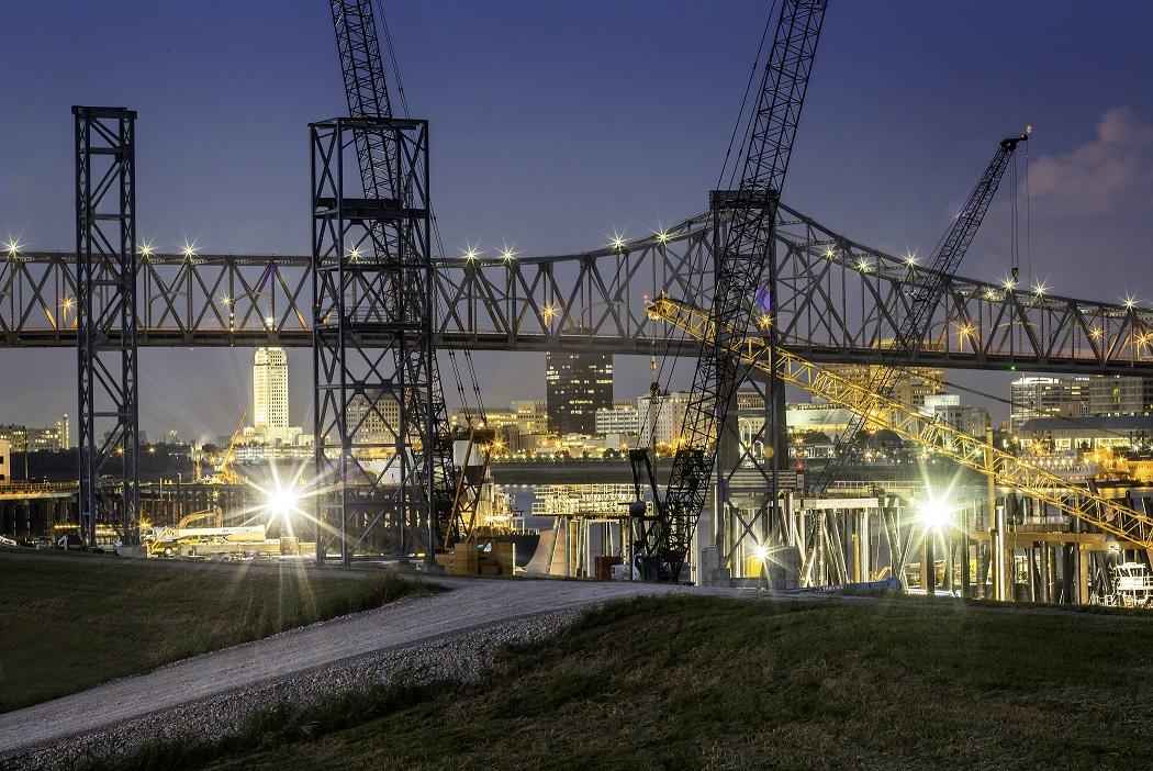 2012 Port at Night