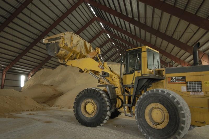 Sugar in Warehouse at the Sugar Distribution Facility