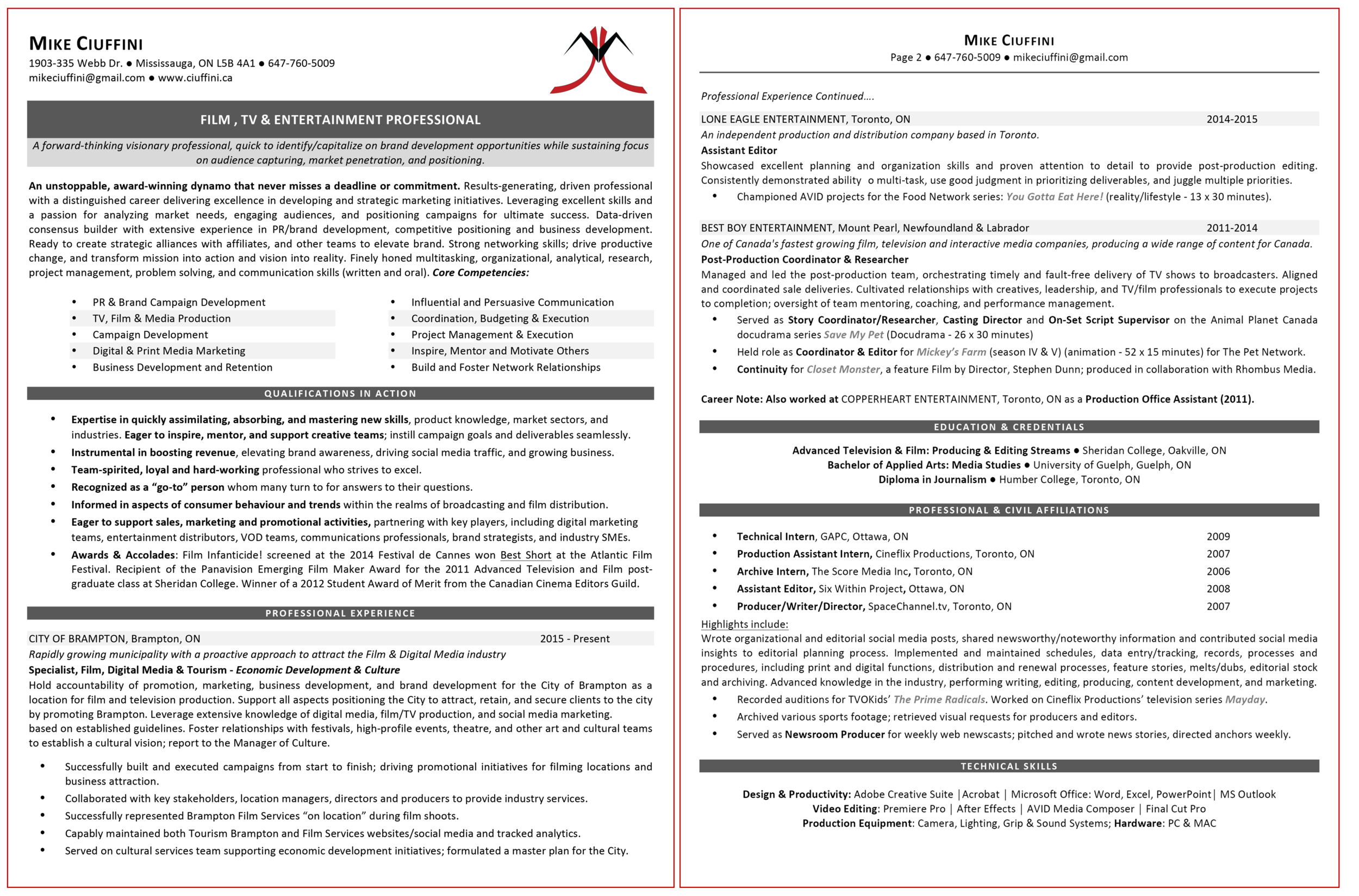 Click to view resume as PDF