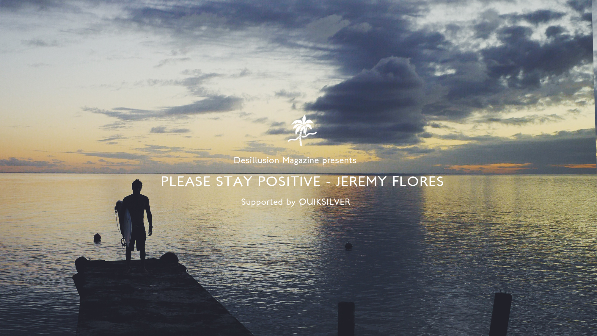 Please Stay Positive