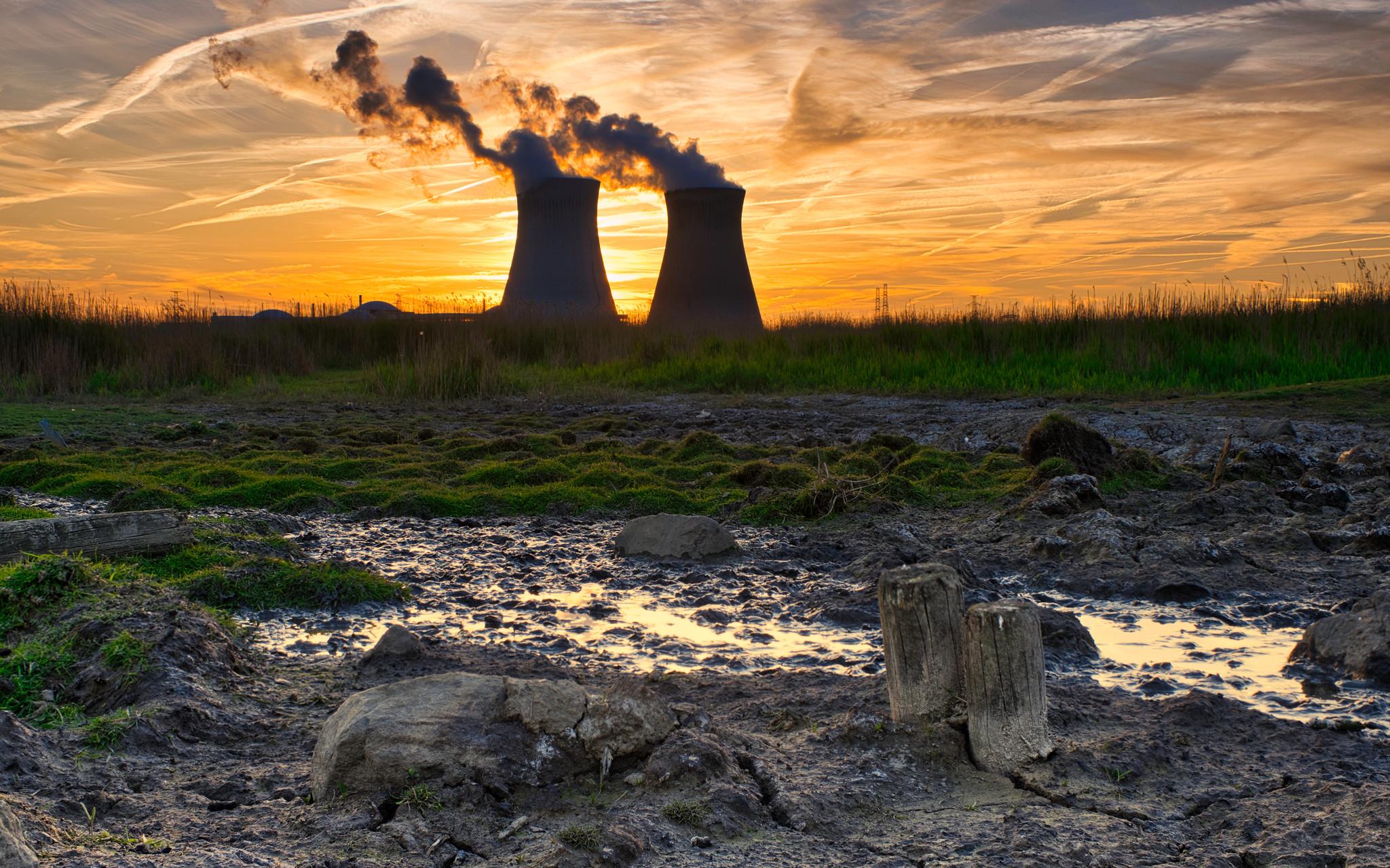 Nuclear Power Sunset
