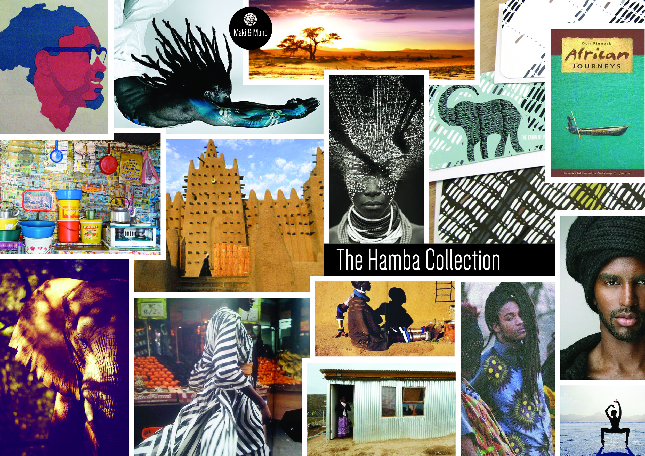 Source: Curation of Maki & Mpho's original images and other image sources (via Google Image)