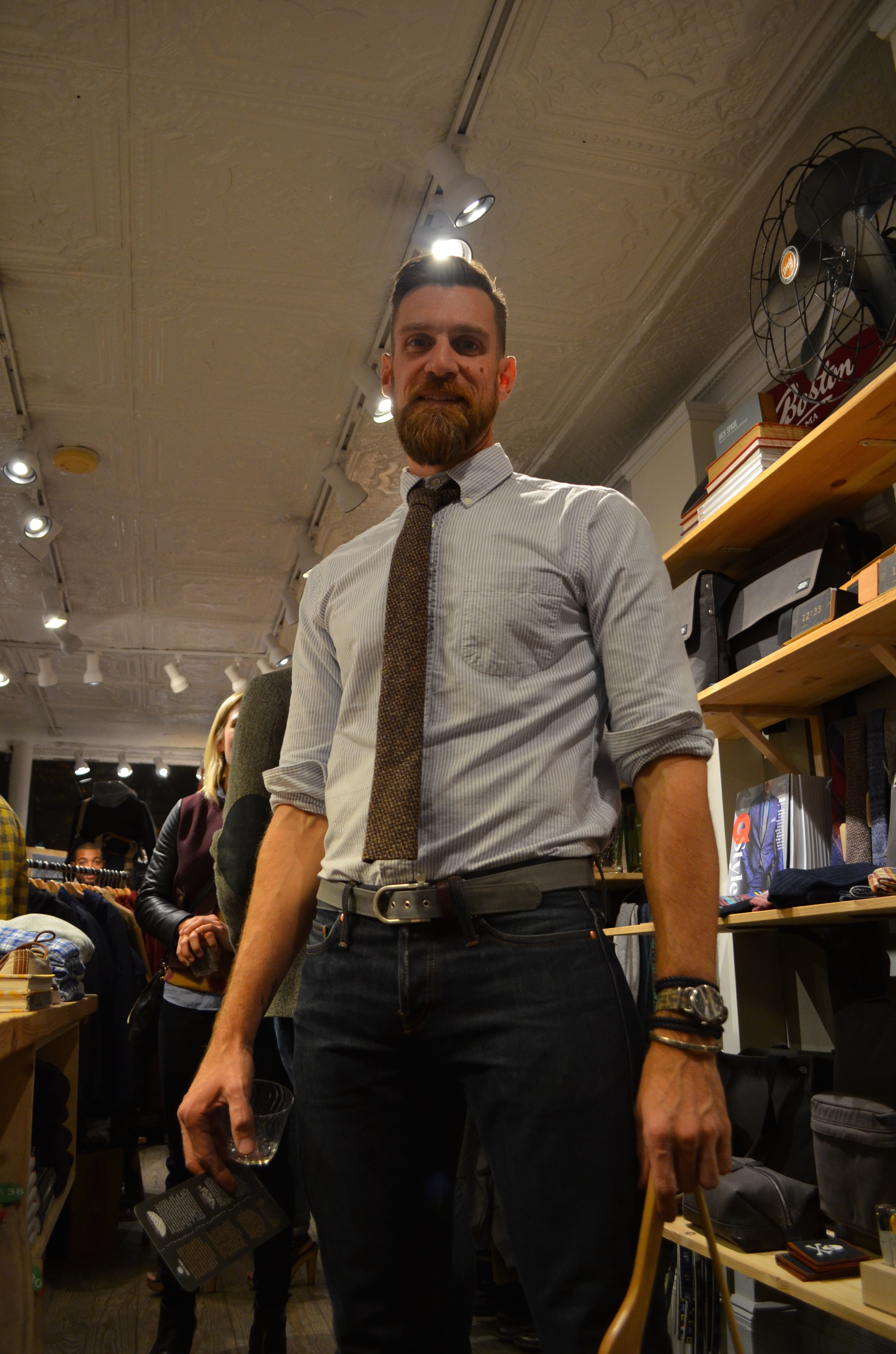 Thursday, Oct. 9 at Sault New England x GQ How To Series | Philip Saul, the founder & the owner of  Sault New England  (Menswear Retail Shop in Boston)
