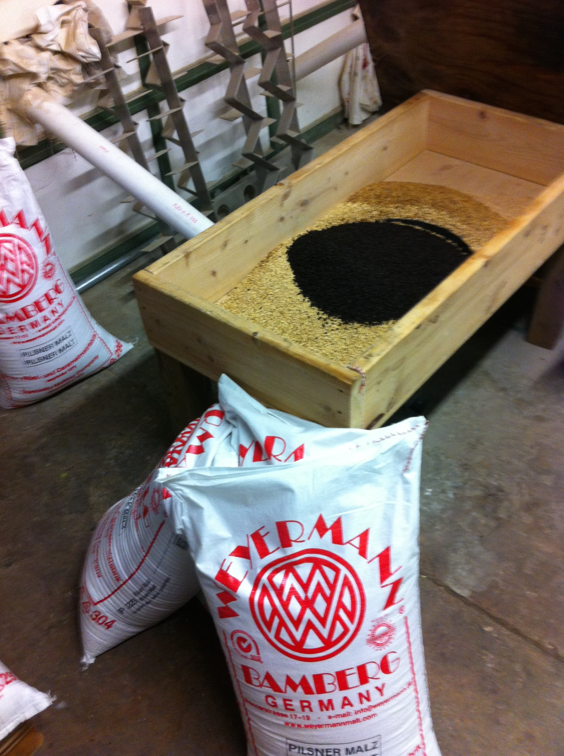 Weyermann is the best grain in the world! Check out that dark chocolate malt!