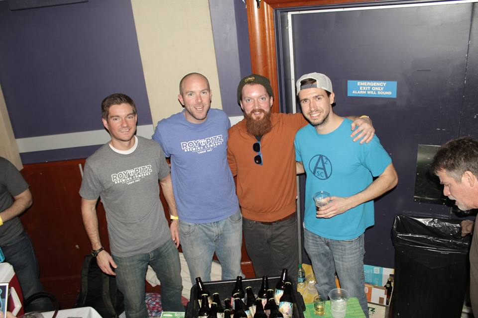 Waney, Chris, Coti and Otl pouring at World Cafe Live, Philadelphia