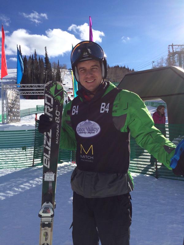 Christian Hebel at the Deer Valley Celebrity Skifest Park City, UT