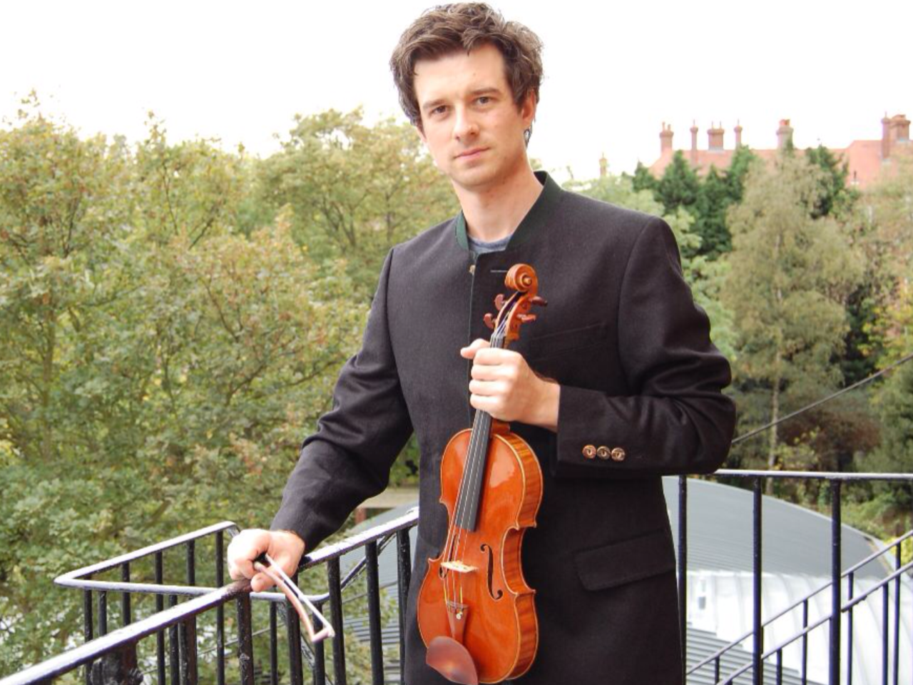 Photo from Christian Hebel Artist Profile at  http://www.daddariobowed.com  read  (Profile)