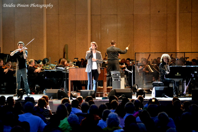 August 18, 2013 Performing with Josh Groban, Ruslan Sirota, and the Atlanta Symphony Orchestra at Chastain Amphitheater, Atlanta, GA   Photo courtesy of Deidra Pinion Photography