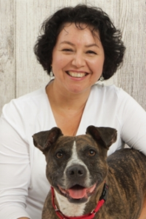 Dr. Lorraine Martinez, Behaviorist-Ph.D., KPA-CTP, CPDT-KA, Fear Free Certified Professional - Lorraine Martinez Ph.D., owner of LoMa Behavior and Training LLC, has been helping dogs and their people since 2002. She gives people confidence they can get the best help and most reliable training for their lovable 4-legged friend.After earning her Ph.D. in Psychology from the University of Washington-Seattle, one of the best schools of behavioral psychology in the country, she graduated with distinction from the rigorous Karen Pryor Academy Dog Trainer Program.As part of the Greater St. Louis Training Club she developed the first specialized program they offered for dogs with issues, those showing fearful and aggressive behavior and she worked as the Behavior and Training Department Supervisor for the Humane Society of Missouri.She has served as a consultant with the ASPCA Anti-Cruelty Behavior Team, assisting with rehabilitation of dogs rescued from dog fighting seizures and adopted one of the dogs from the largest dog fighting raid in history.Lorraine is a Fear Free Certified Professional Trainer.