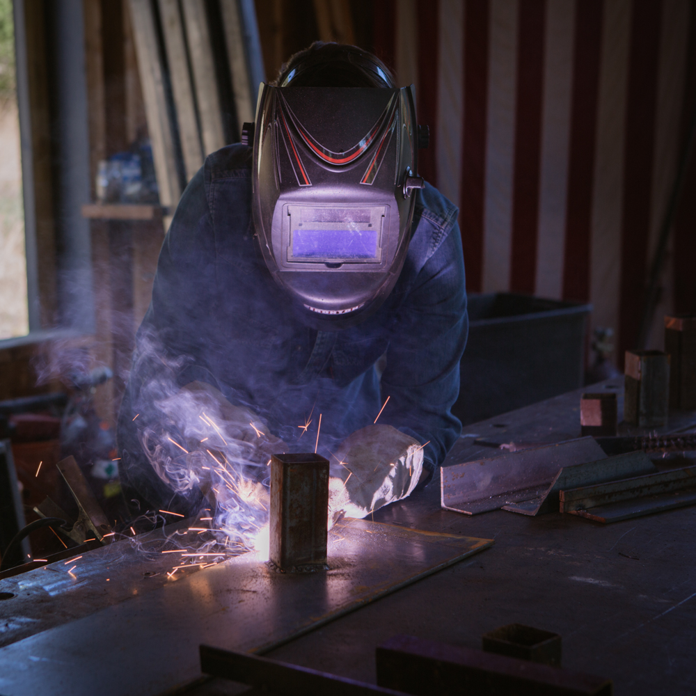 BASICS OF WELDING DAY CAMP: COFFEE TABLE - OCTOBER 14, 2017 at KKDW HQ