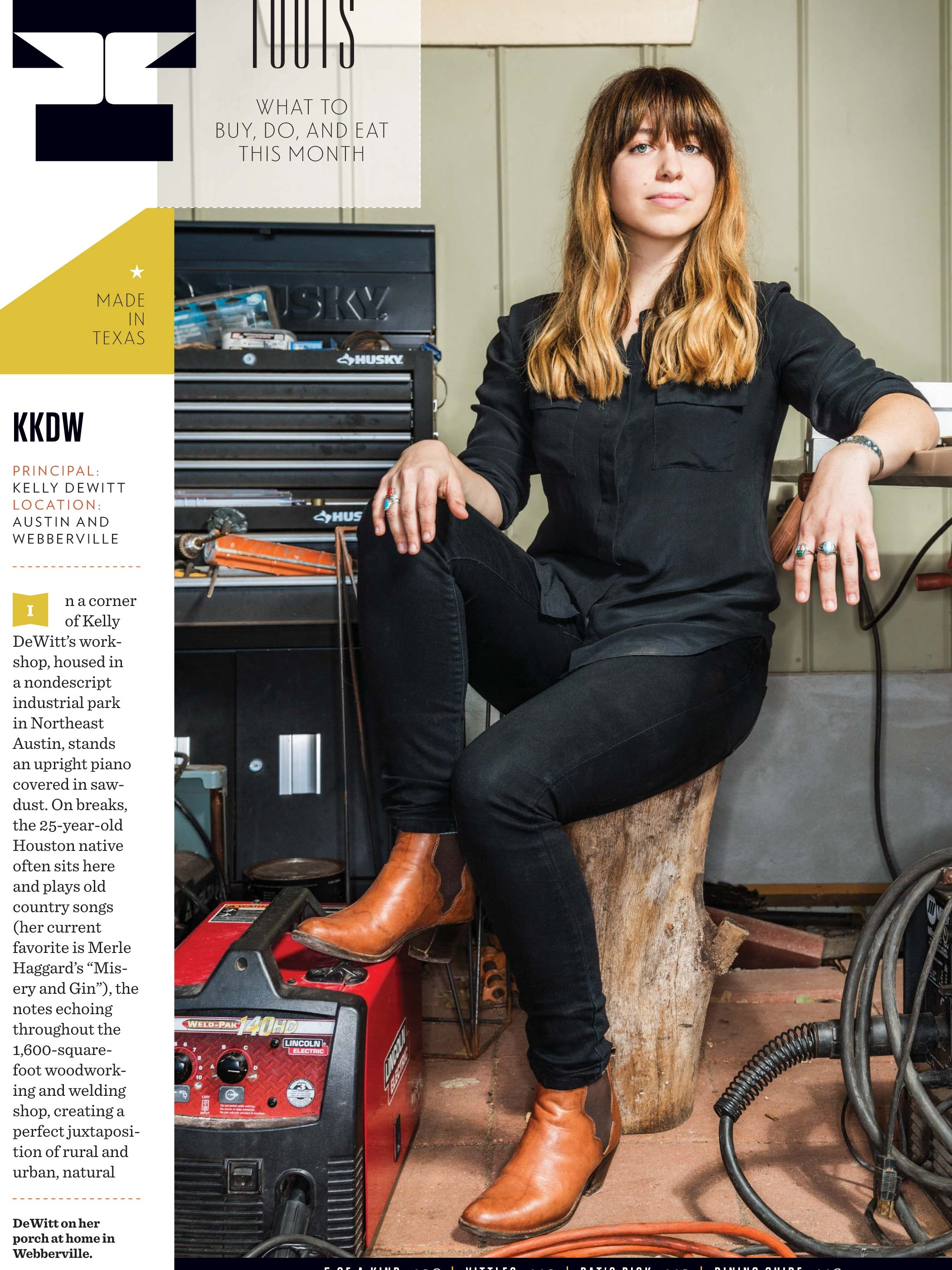 TEXAS MONTHLY -