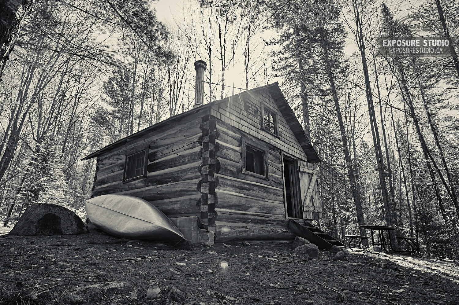 Lost Coin Lake Ranger Cabin