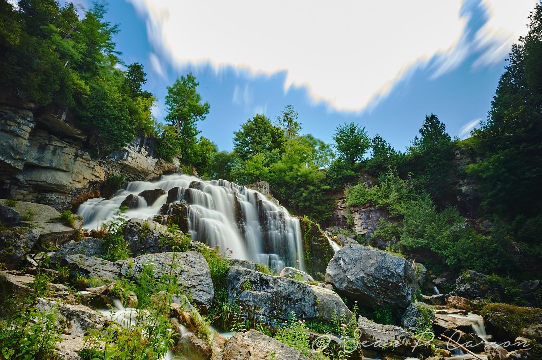 Passing Time at Inglis Falls