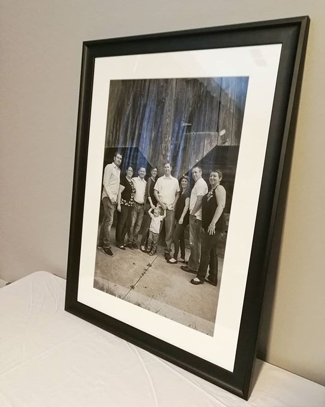 Another #print created for a client and this one was beautifully framed by local #BarberGlass in #Guelph, Ontario.  Excited to see the clients response to this classic setup.  Here at @exposurestudio we #print all our #photography on high quality recycled photographic papers, in-house and make sure to deliver a fast, quality service with guaranteed archival standards.  New for 2019, we will start to offer #printing services.  Prices will be clearly stated on our website in early 2019 and turn around will be 4 to 6 business days.  Keep an eye out for more details.  #photographer  #printer #anotherstepforward