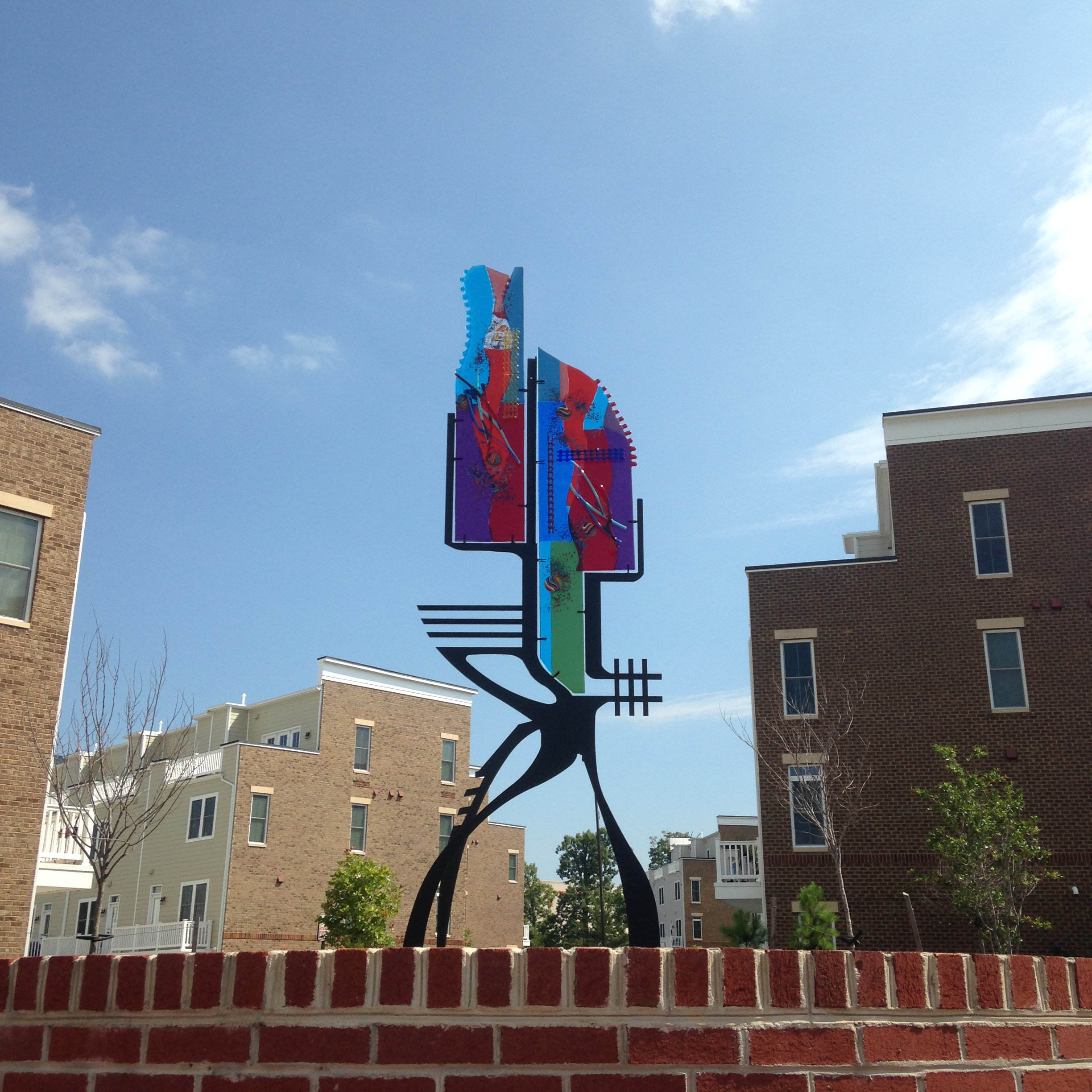 The delicate nature of the cast glass in this sculpture made this public art installation tricky.