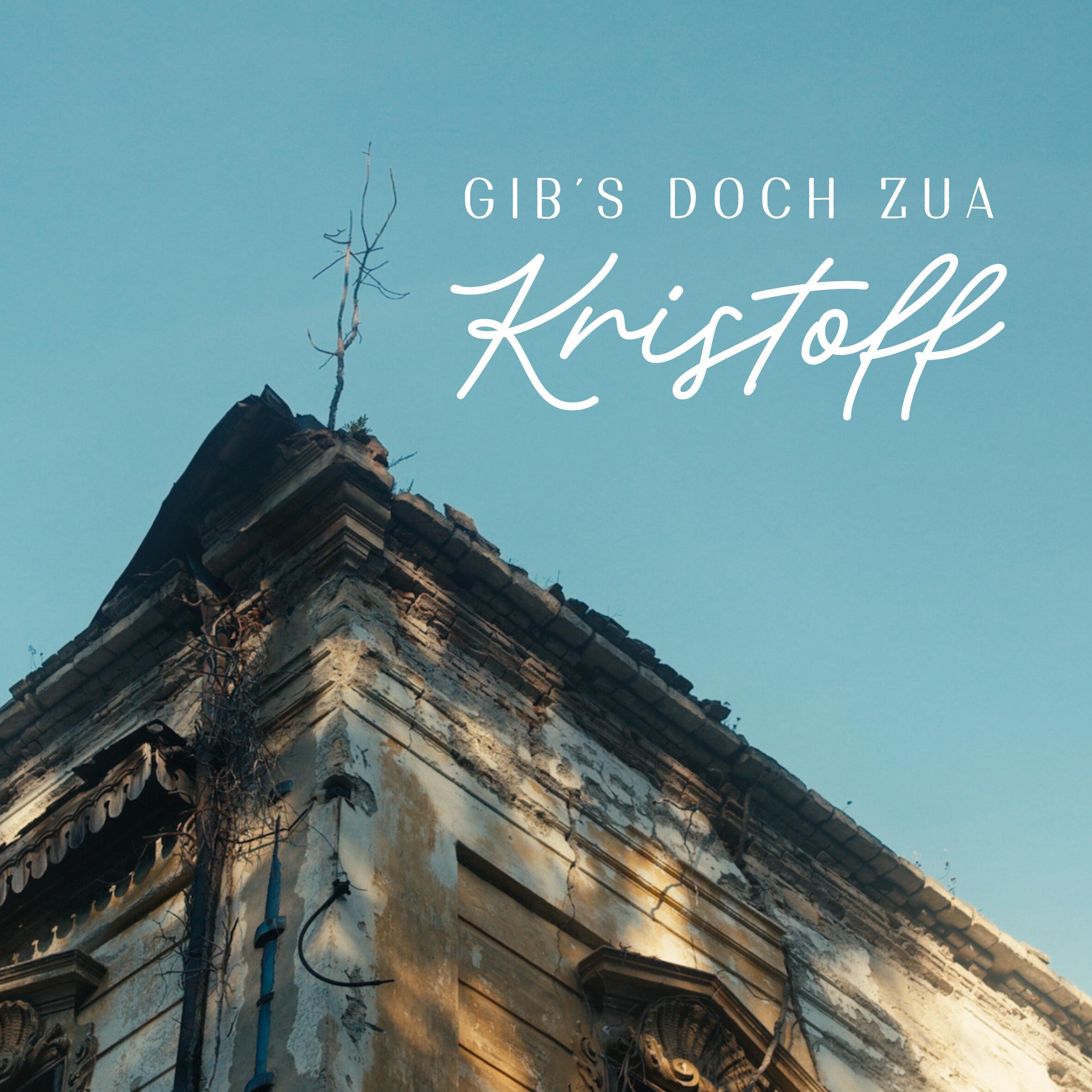 KRISTOFF_gibsdochzua_cover