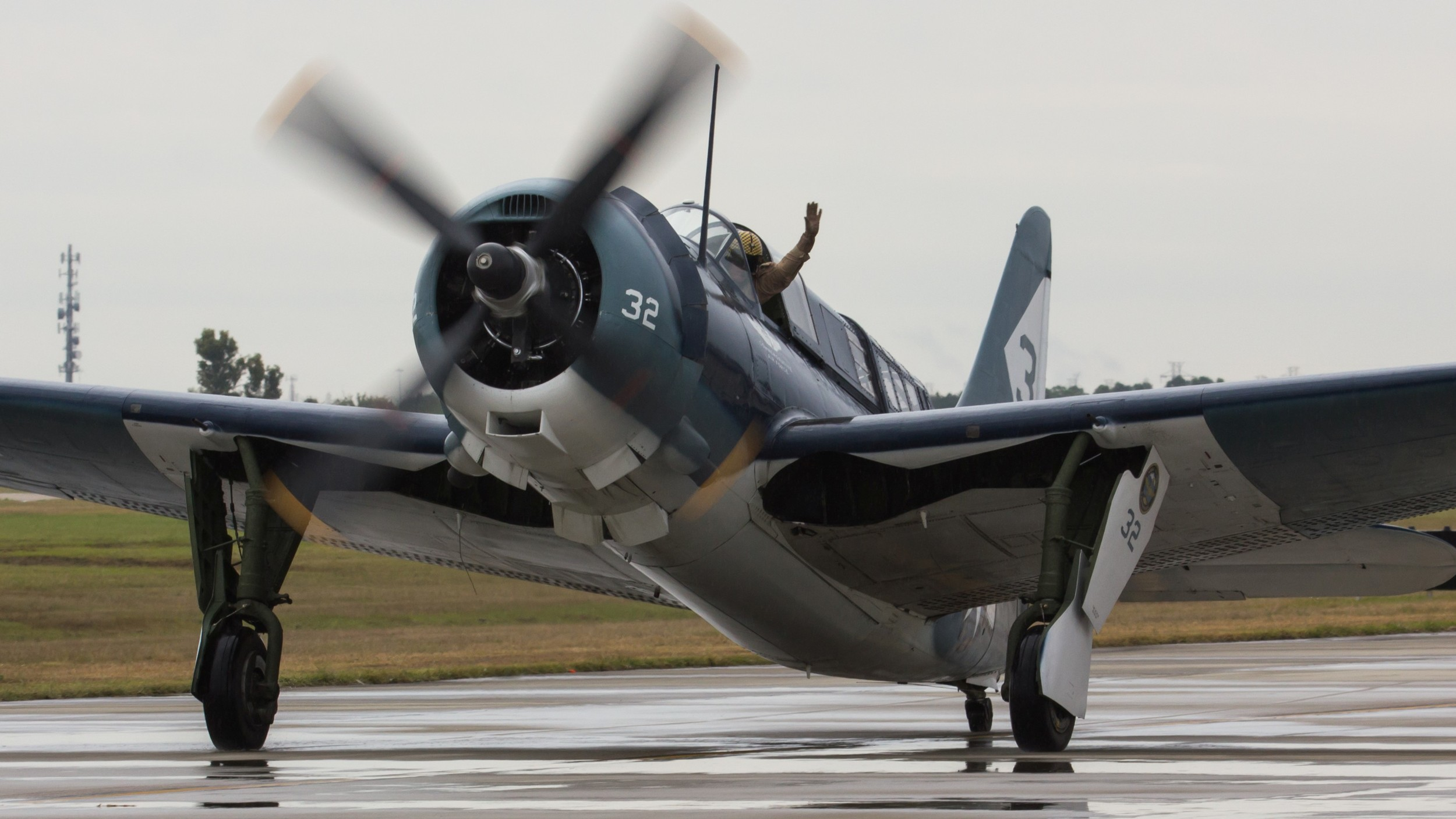 How often do you get to see a recent picture of an SB2C Helldiver? Trust me, it's not often.