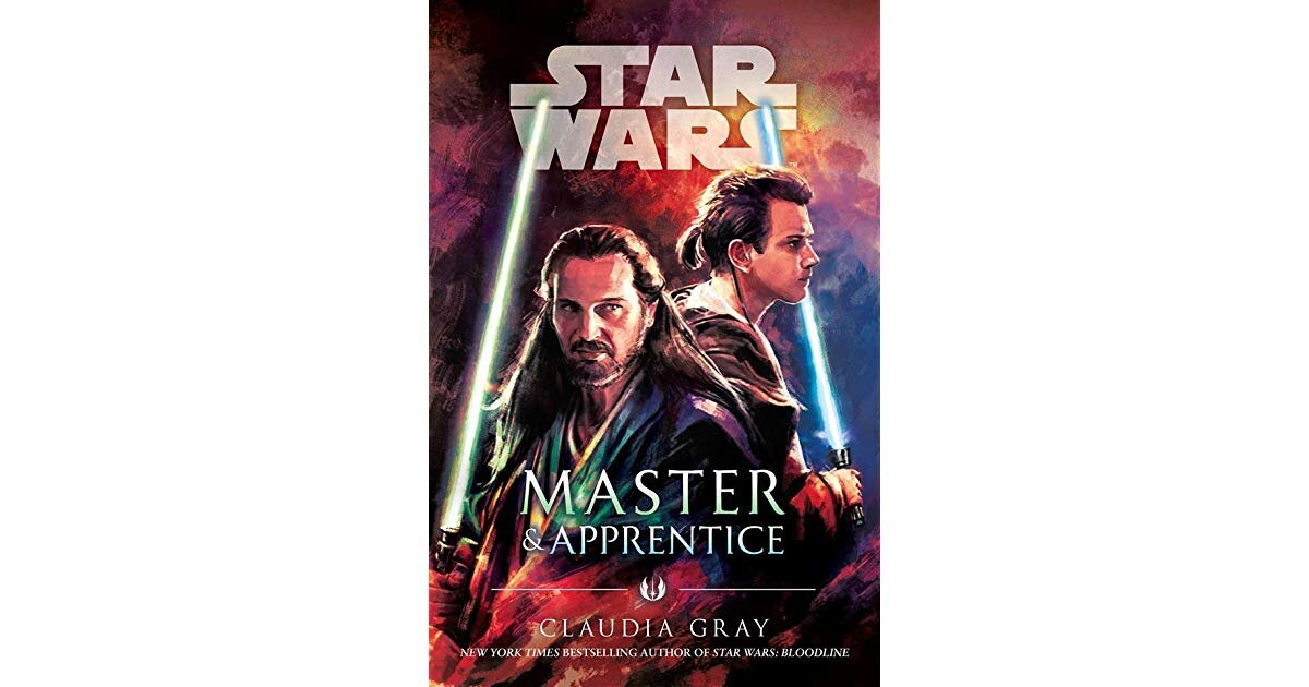 Book cover for Star Wars: Master and Apprentice, by Claudia Gray