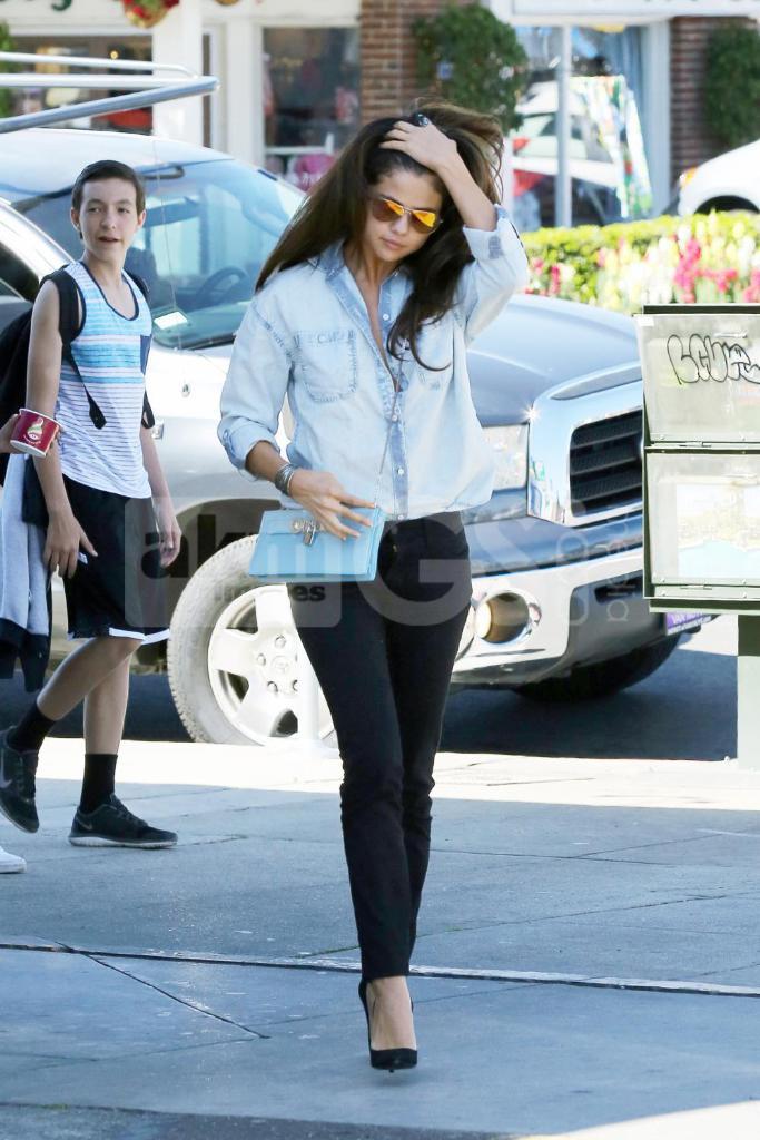 Selena Gomez in the Marcel Shirt in Dispersion