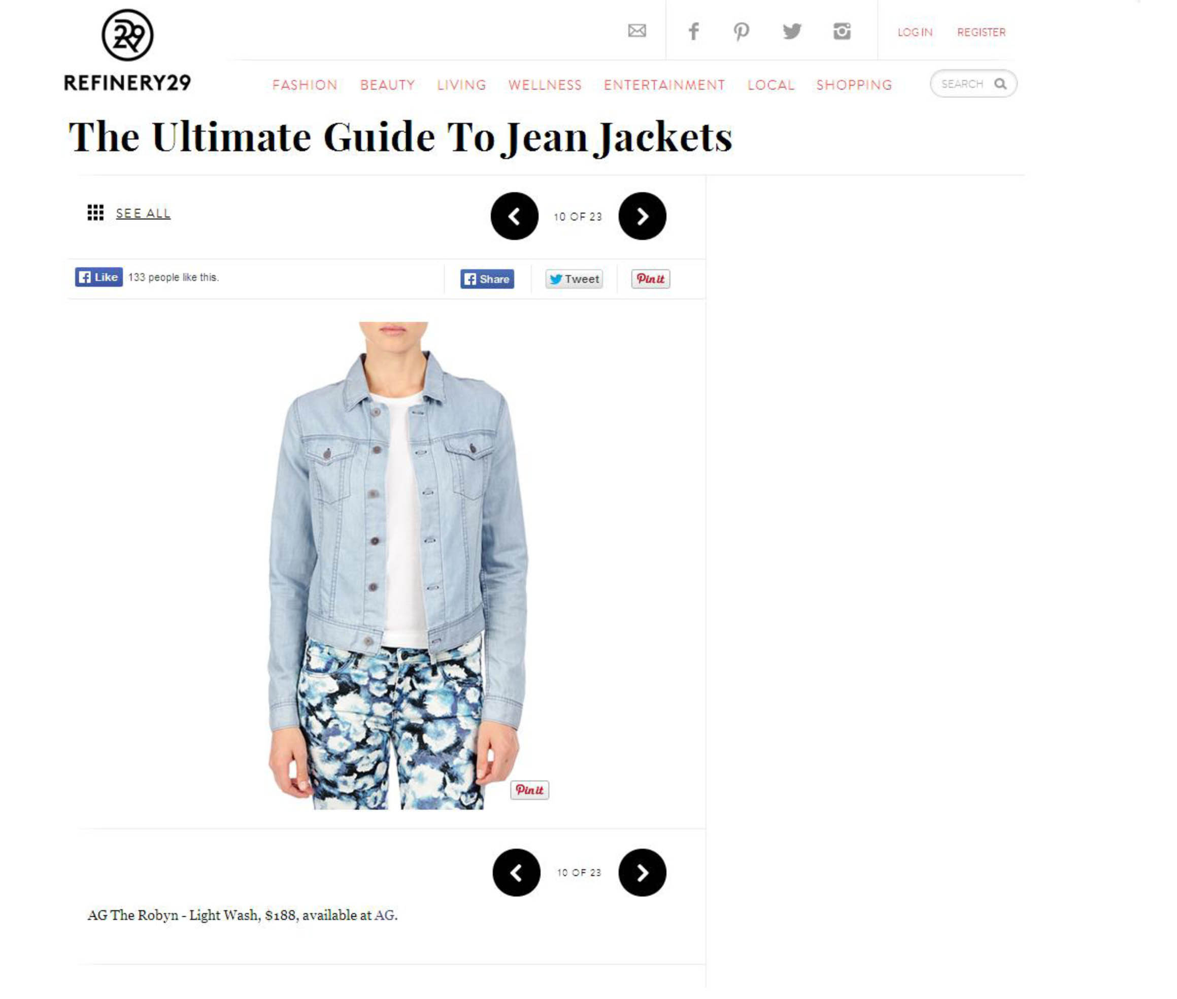 Refinery 29- The Robyn Jacket