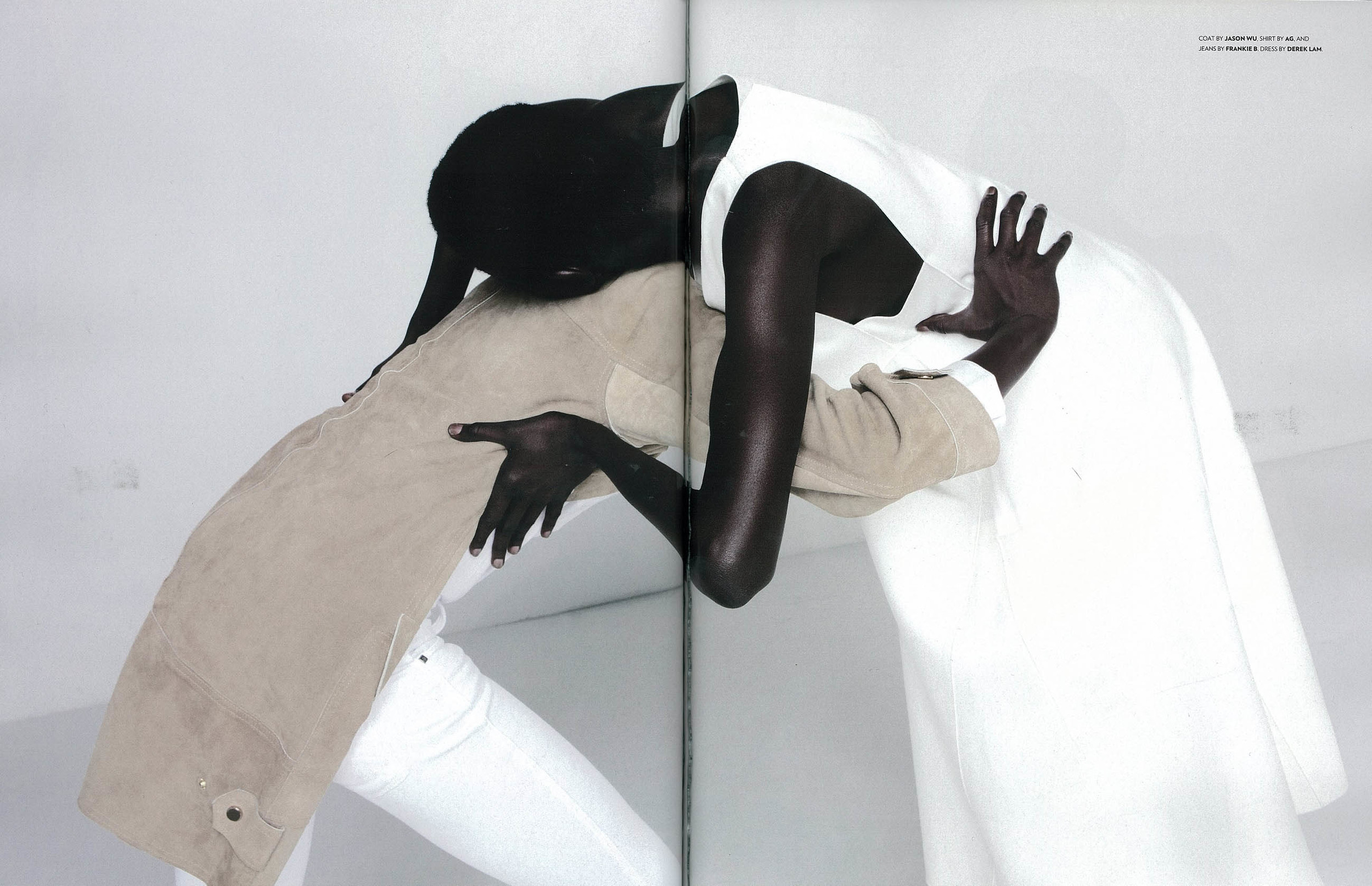 Flaunt Magazine- Issue 131- Sway Shirt in True White