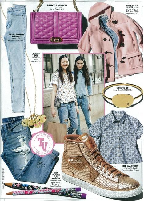 Teen Vogue- The Finch Shirt in Glacial