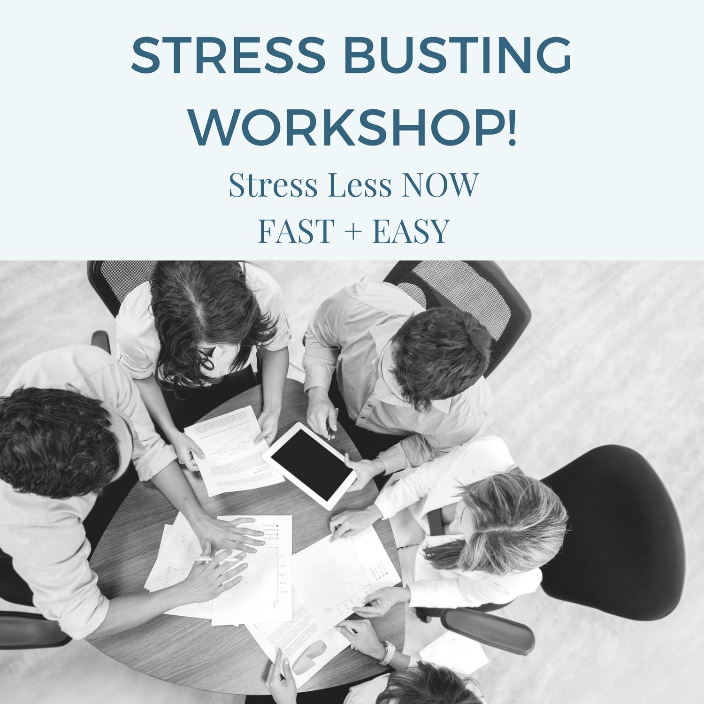 stress less workshos