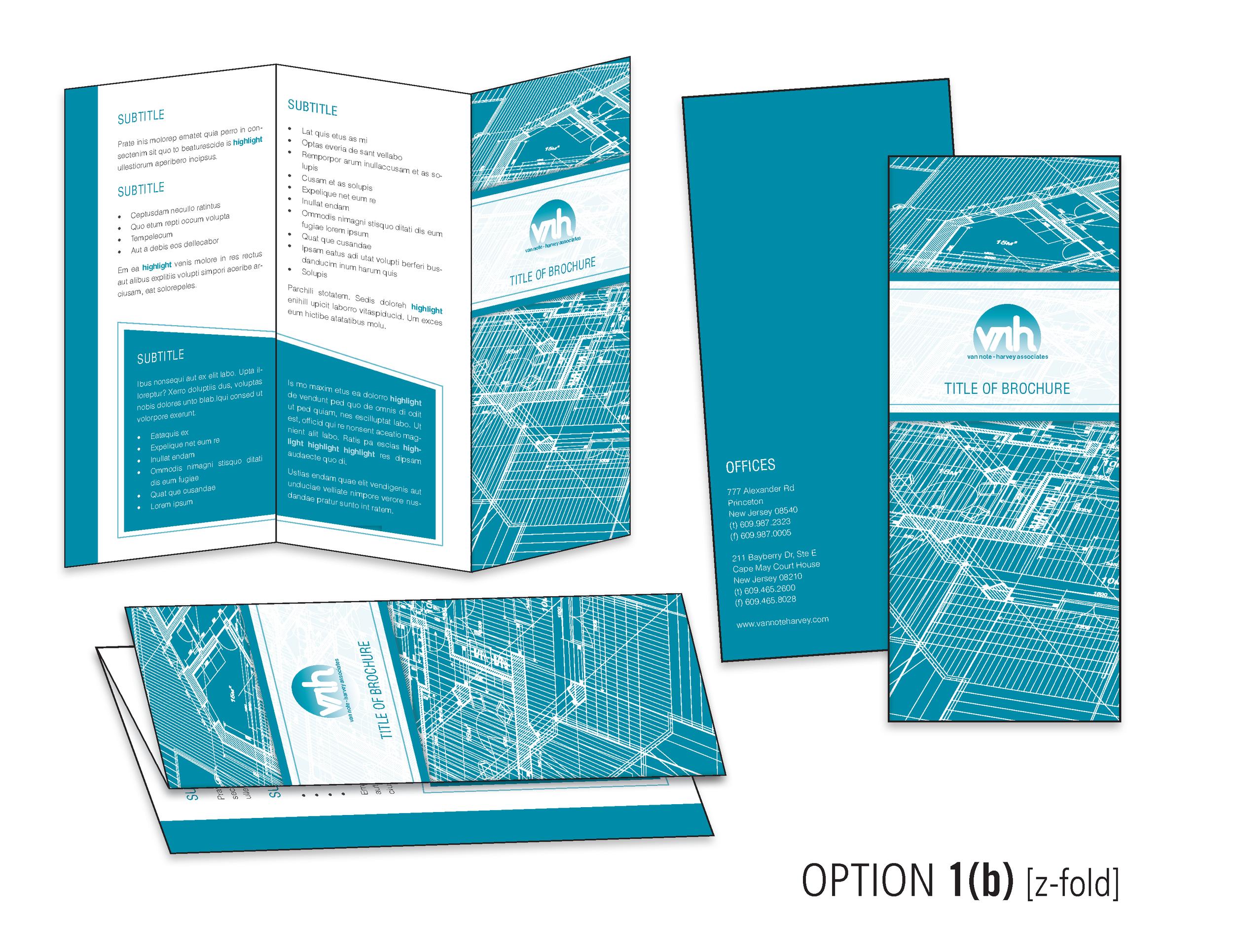 Round 1, Z-fold design option.