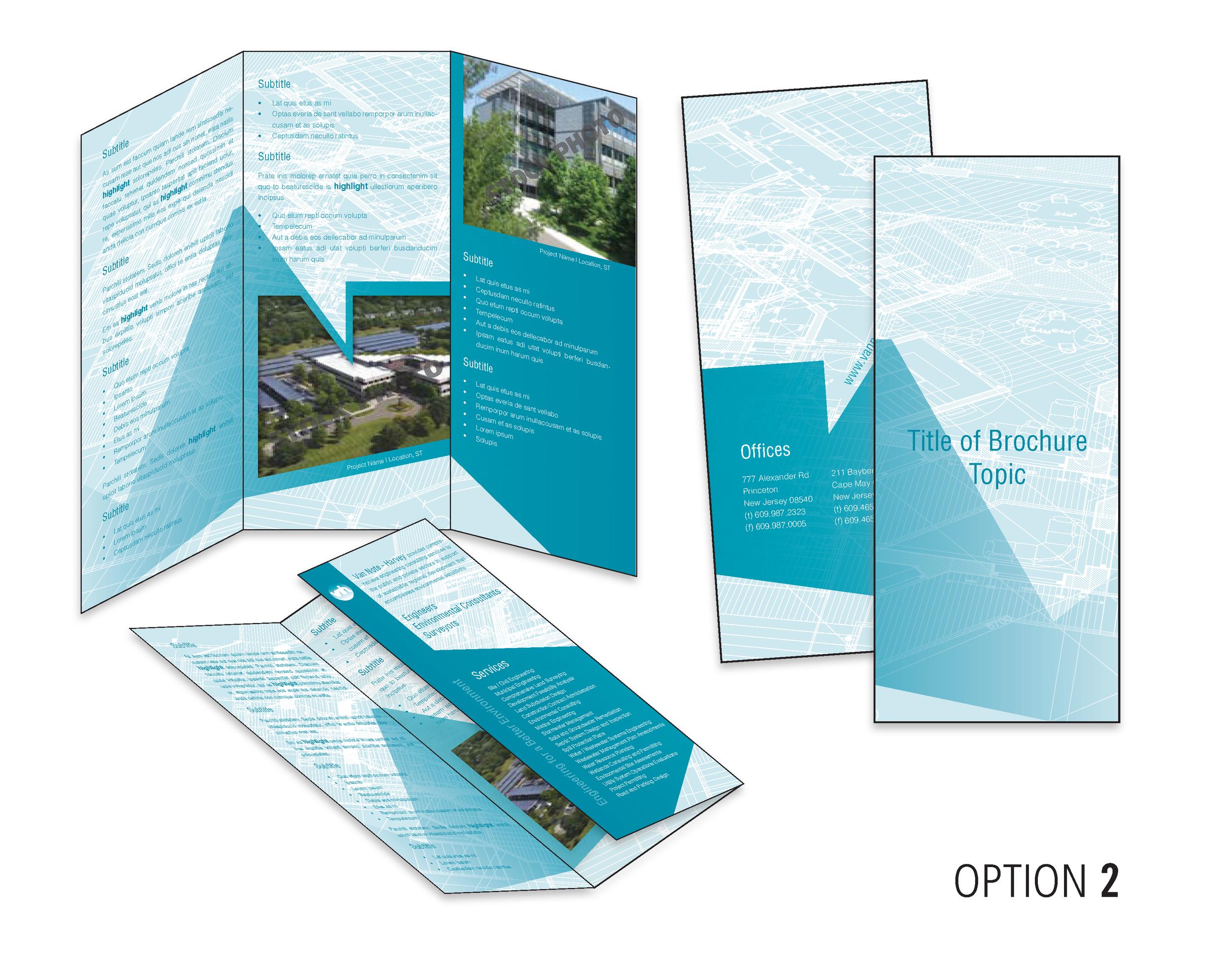 Round 1, tri-fold design option.