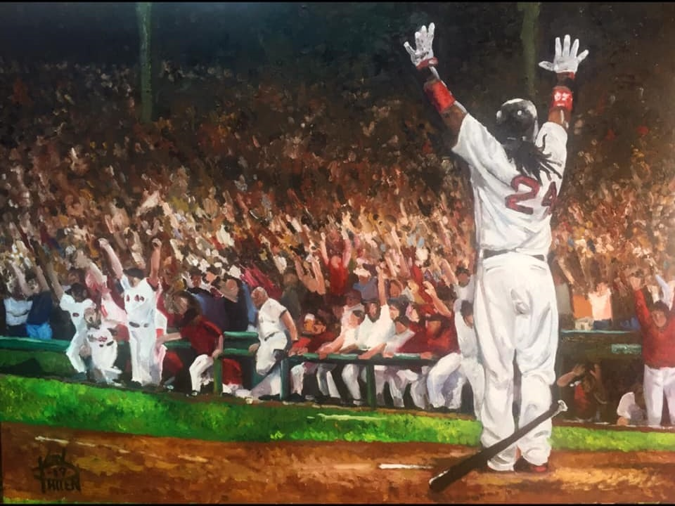 """The Walk Off"" Limited edition print"