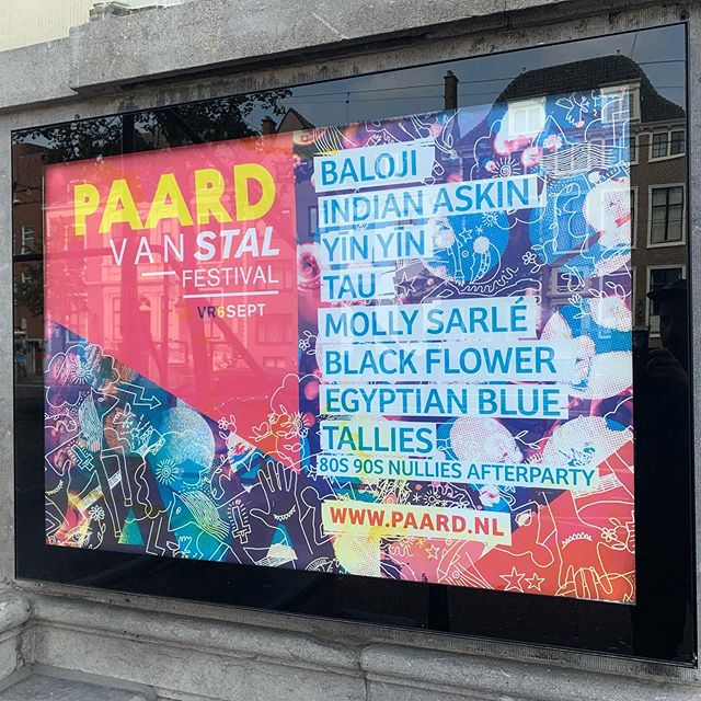 Tonight! #paardvanstalfestival #paarddenhaag #festival #graphicdesign #prikmedia📍 #prikmedia #posterdesign #dutchdesign #thehaguedesign