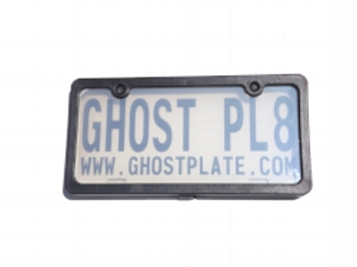 - When power is applied to the Road Warrior privacy plate, the plate switches to a completely transparent state and remains so until the current is turned off.  In other words, the license plate itself is totally visible.                                                             Power ON