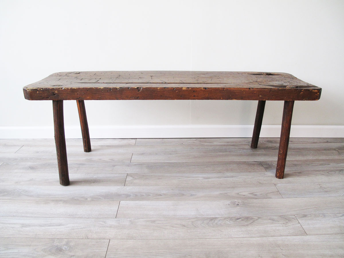 Primitive Dowel-Leg Table
