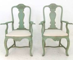 Swedish Armchairs
