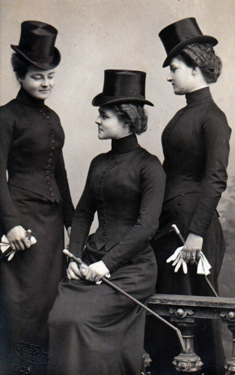 Ladies Riding Habit c.1900