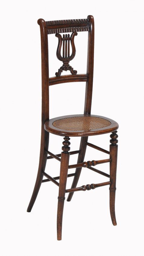 A Regency Mahogany 'Corrections' Chair, c. 1815