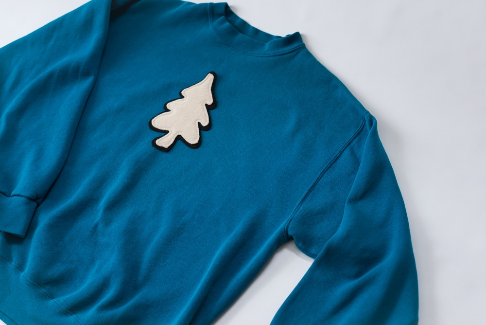 The Tree Patch - A perfect blend of Cashmere Wool + Sturdy Felt
