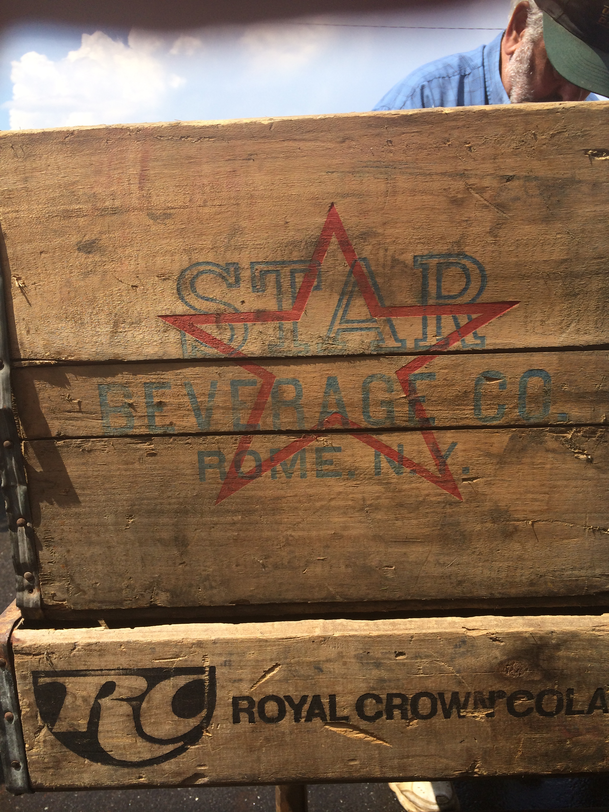 Lucysinspired: Crates from Scott's Antique Market
