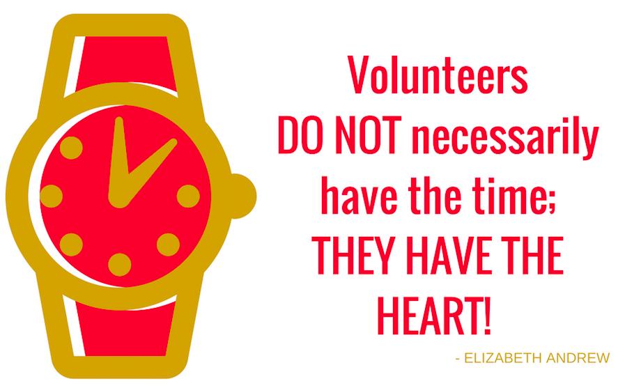 volunteer clock