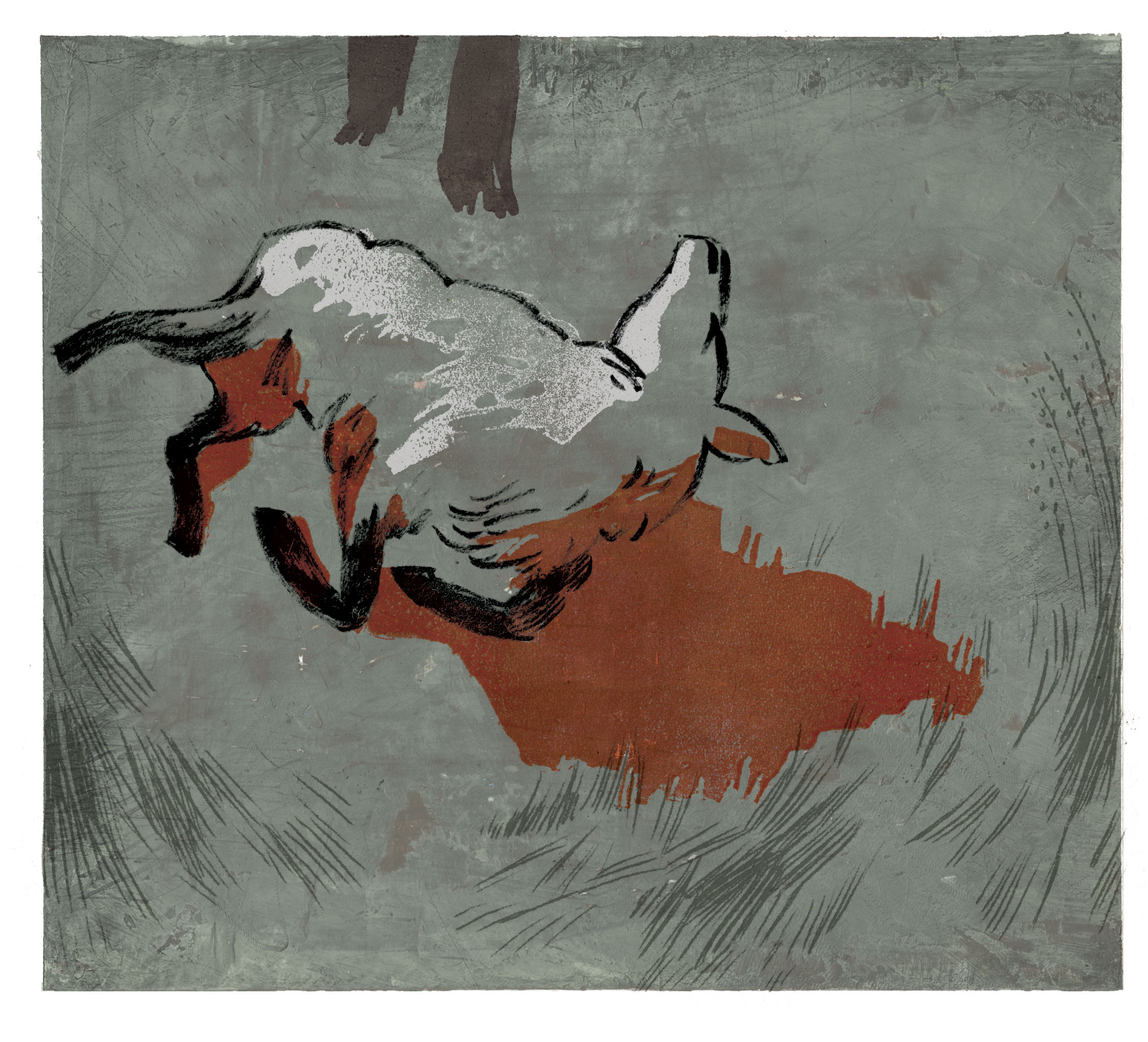 For the Boston Globe Book Review, art director Jane Martin.  All the Birds, Singing by Evie Wyld.