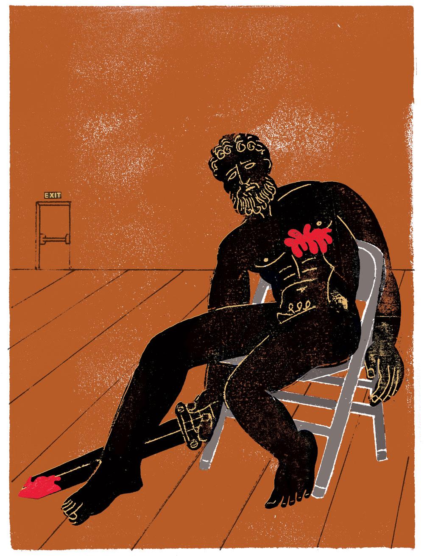 Harper's Magazine  You Are Not Alone Across Time  Using Sophocles to treat PTSD, Wyatt Mason
