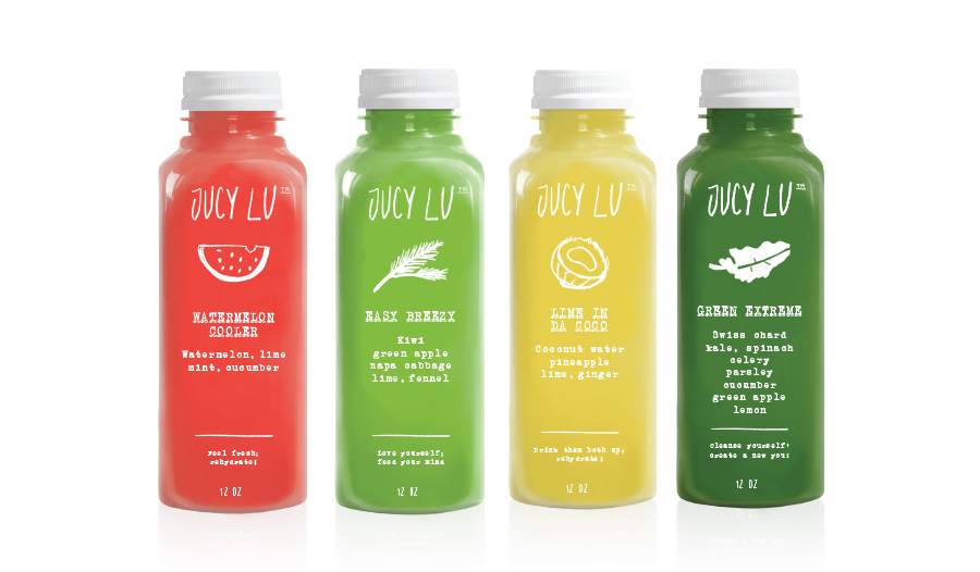 Jucy Lu Cold-pressed juices