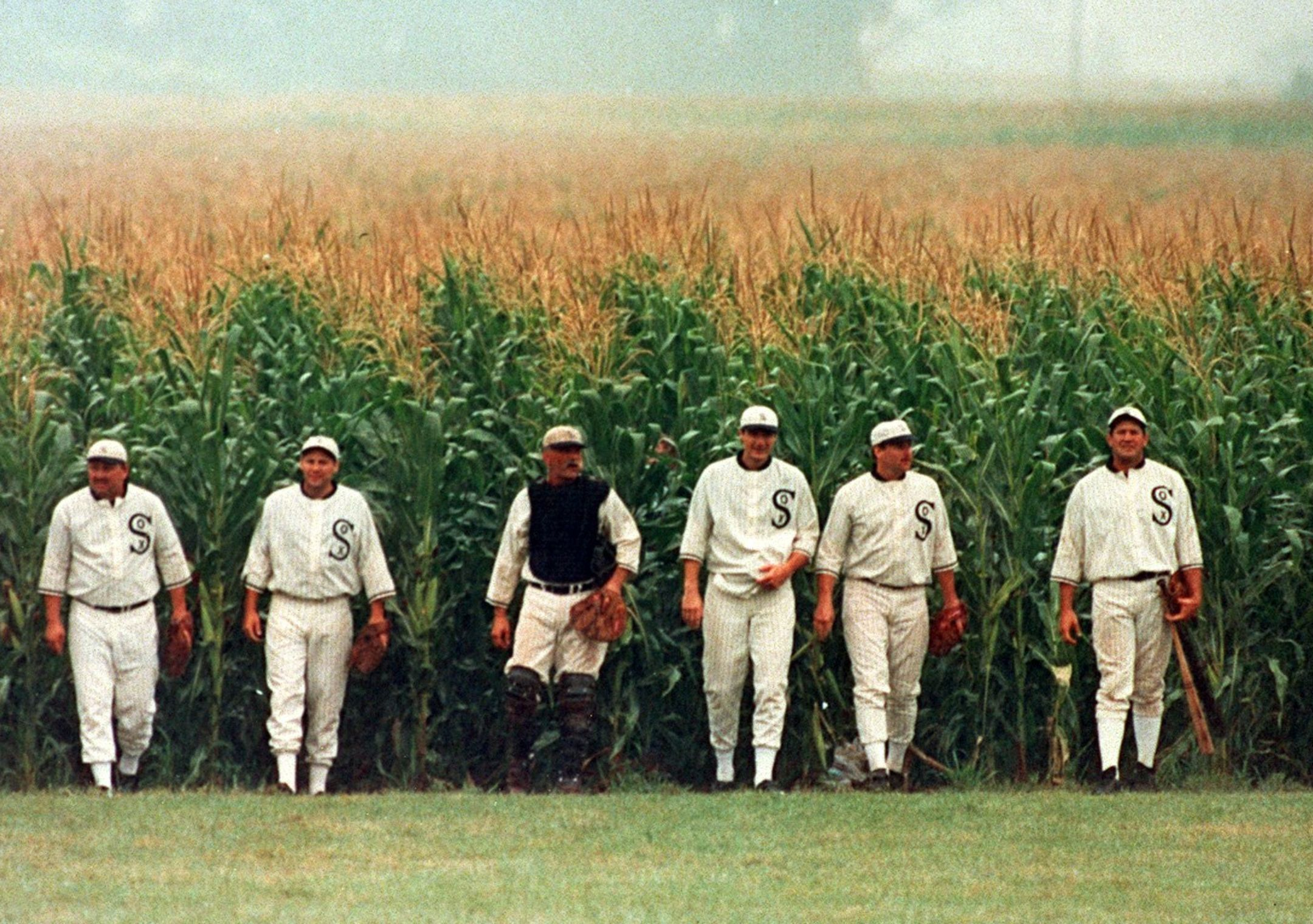 From the inspirational Field of Dreams movie from the late '80s