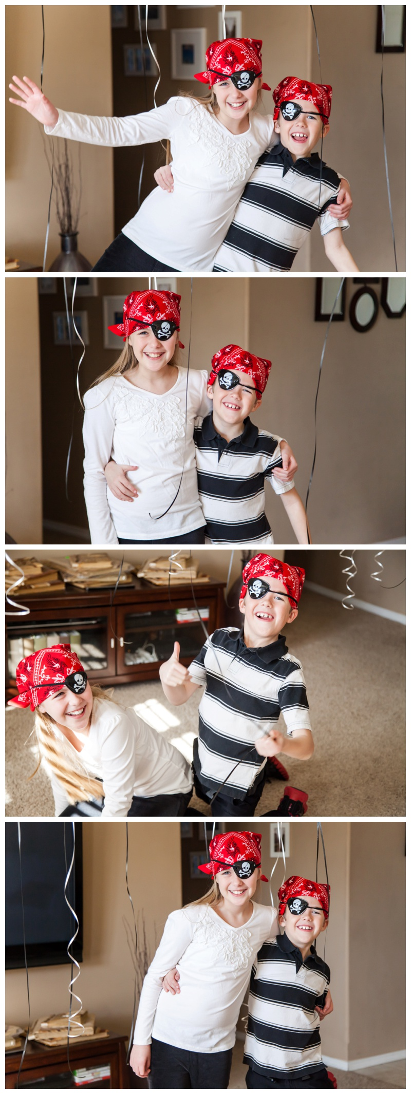 Caylee & Cash | BW & Pirate Weekend