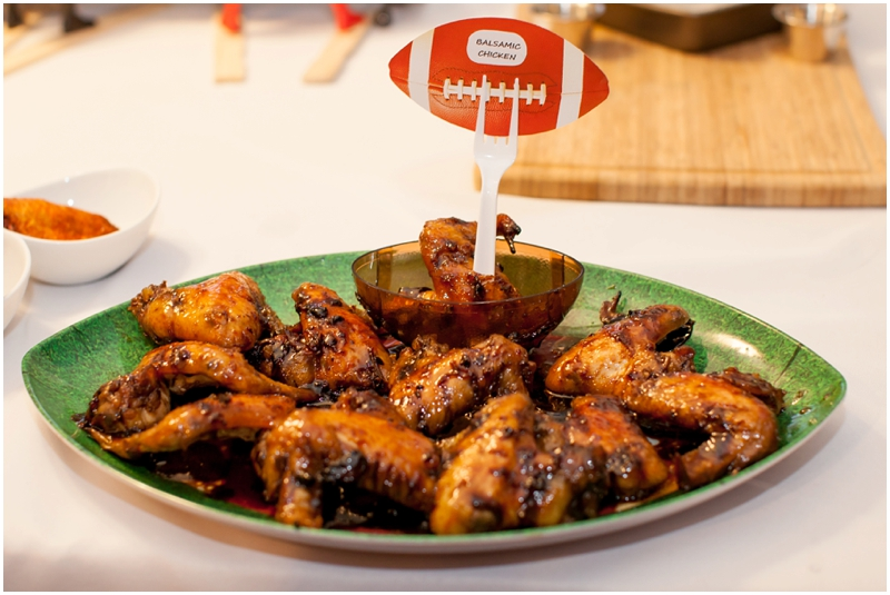 Second Place: Sabrina Garton - Balsamic Wings