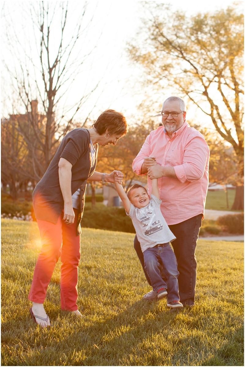 The Huser & Vaega Families