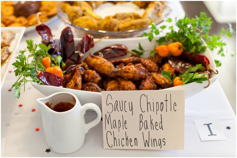 First Place: Nikki Henley - Saucy Chipotle Maple Baked